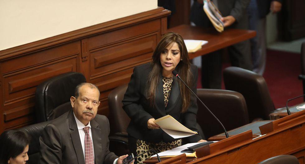 Congresista Alejandra Aramayo aseguró que Fuerza Popular apoyará las propuestas del presidente Martín Vizcarra. (Foto: Archivo El Comercio)