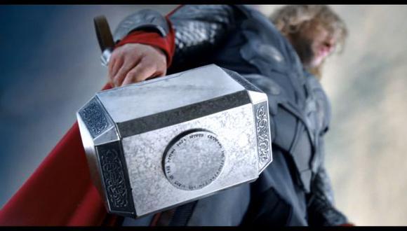 ¿Sabes cuánto pesa el martillo de Thor?