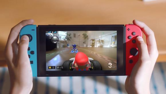 Así es la Nintendo Switch en su modelo estándar. (Difusión)