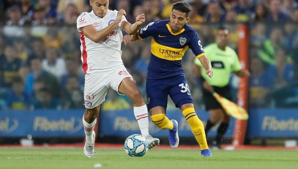 Boca Juniors dejó escapar dos puntos tras igualar frente a Argentinos Juniors en la Bombonera | Foto: Boca