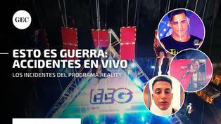 Esto es guerra: los accidentes en vivo del programa de competencias