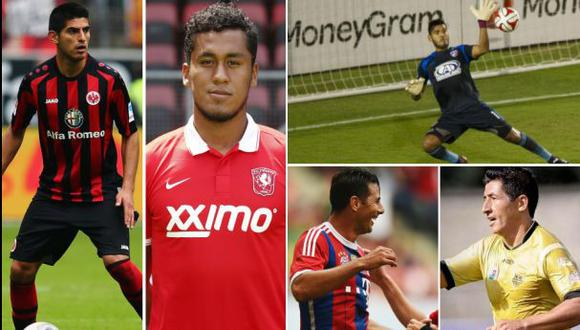 Más de 30 futbolistas peruanos ya se muestran en el exterior