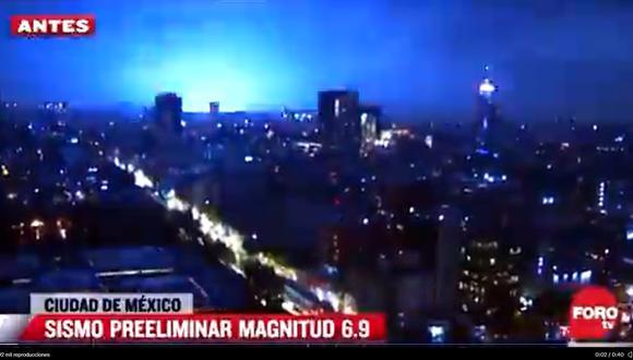 Sismo en México de magnitud 7,1   Terremoto en Acapulco   Luces en el cielo  y pánico: así se vivió el sismo de magnitud 7.1 en la CDMX   MX   Temblor    VIDEOS   MUNDO   EL COMERCIO PERÚ