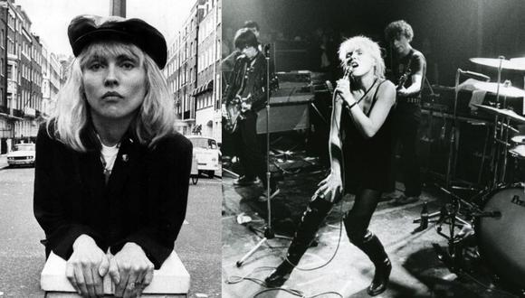 Con Blondie, Debbie Harry supo pasar del punk al disco, y del new wave al reggae con igual talento. Fotos: Getty.
