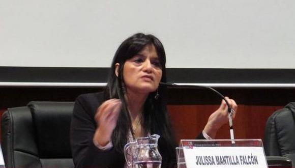 """Mantilla aseguró que trabajará """"desde un enfoque de no discriminación e interseccionalidad"""". (Foto: Poder Judicial)"""