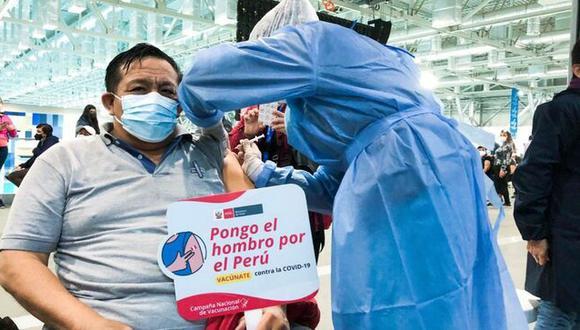 El proceso de vacunación para los adultos mayores de 50 años se iniciará este miércoles 30 de junio. (Foto: Minsa)