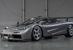 Un McLaren F1 especial podría alcanzar los US$ 30 millones en subasta   FOTOS