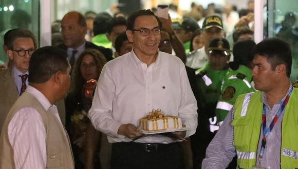 El también ex gobernador de Moquegua arribó esta madrugada a Lima procedente de Canadá. (Foto: Reuters)