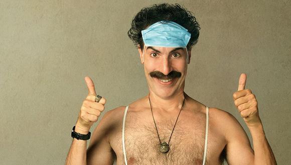 Sacha Baron Cohen vuelve a ser Borat. (Foto: Difusión)
