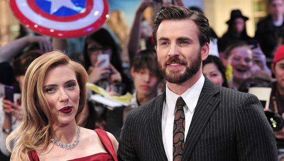 "Chris Evans actuaría al lado de Scarlett Johansson en ""Little Shop of Horrors"". (Foto: AFP)"
