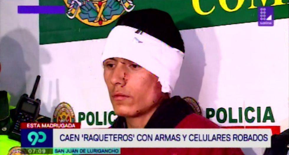 """Los ladrones pertenecerían a la banda criminal  """"Los raqueteros de la Flor de Amancaes"""". (Latina)"""