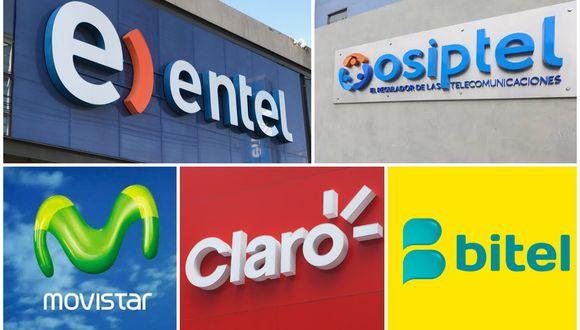 Los operadores que brindan el servicio de telefonía móvil, como Claro, Movistar, Bitel y Entel, son los que más multas han recibido: concentran el 90% de las emitidas en el sector.