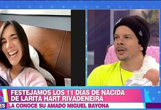 """Korina Rivadeneira: """"Mario Hart es mejor papá de lo que yo esperaba"""""""