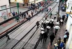 Guatemala: Policía evacua a diputados y personal del Congreso en protesta de exmilitares