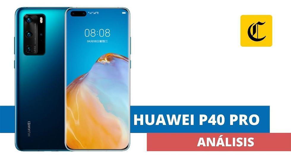 El P40 Pro es el smartphone de alta gama más moderno del portafolio de Huawei. Es otro de los dispositivos de la marca china que vienen sin los servicios de Google. (El Comercio)