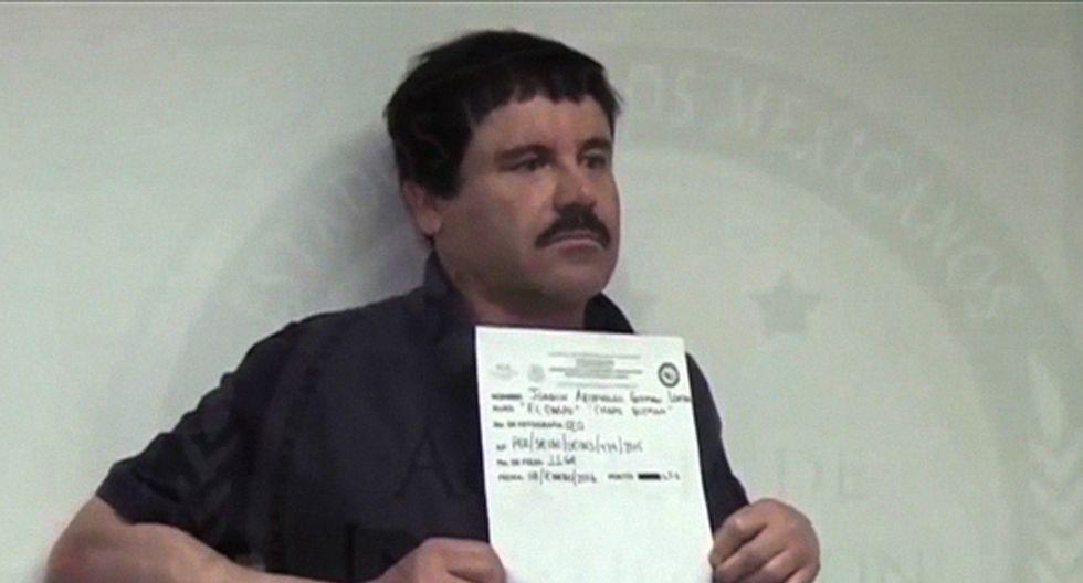 El Chapo Guzmán es condenado a cadena perpetua por Estados Unidos. Foto: Archivo de AFP