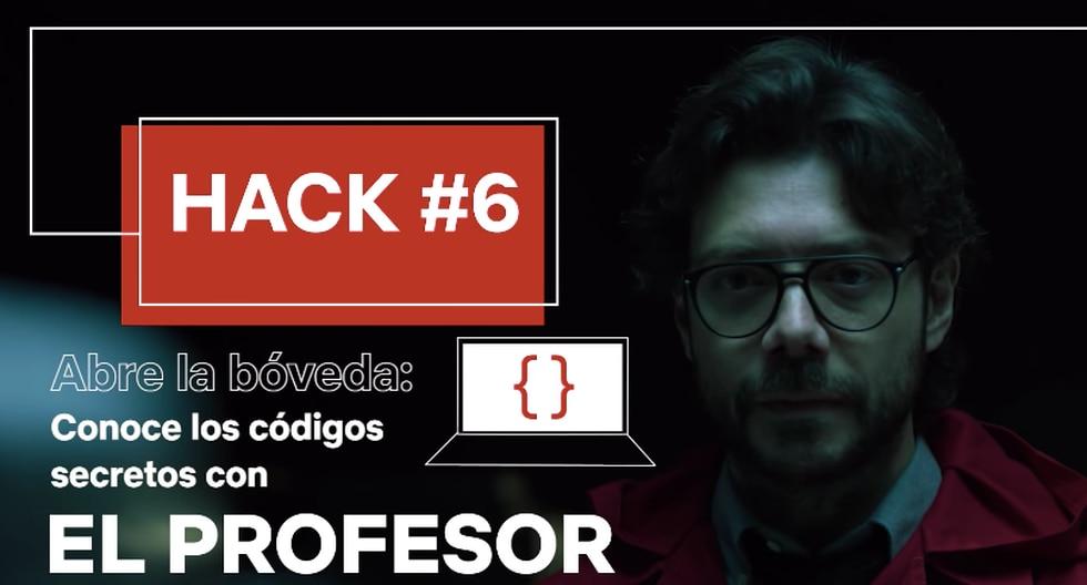 El profesor te enseña a ser un hacker en Netflix.
