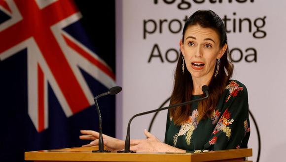 Jacinda Ardern, primera ministra de Nueva Zelanda. (Foto: AFP)
