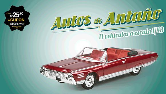 Autos de antaño, la época dorada del automovilismo