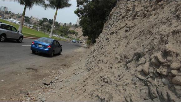 Lima contesta a Miraflores: No nos compete mejorar acantilados
