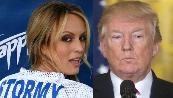 Casa Blanca niega alegaciones sobre relación de Donald Trump con actriz porno Stormy Daniels. (AFP / EFE).