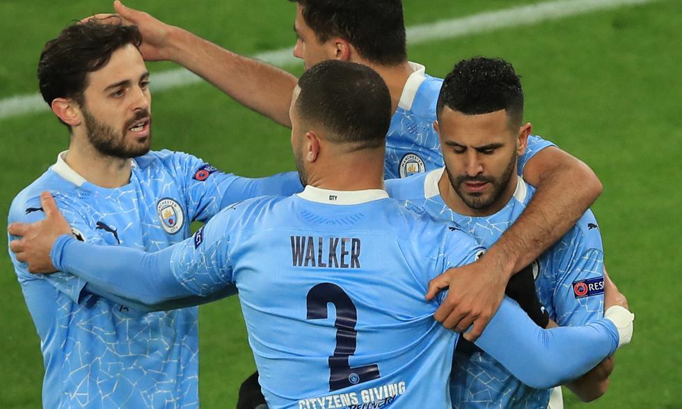 Manchester City eliminó a Borussia Dortmund tras vencer 1-2 en el Signal Iduna Park | Foto: AFP