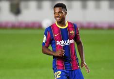 Casi un año después: Ansu Fati volvió a la convocatoria del FC Barcelona