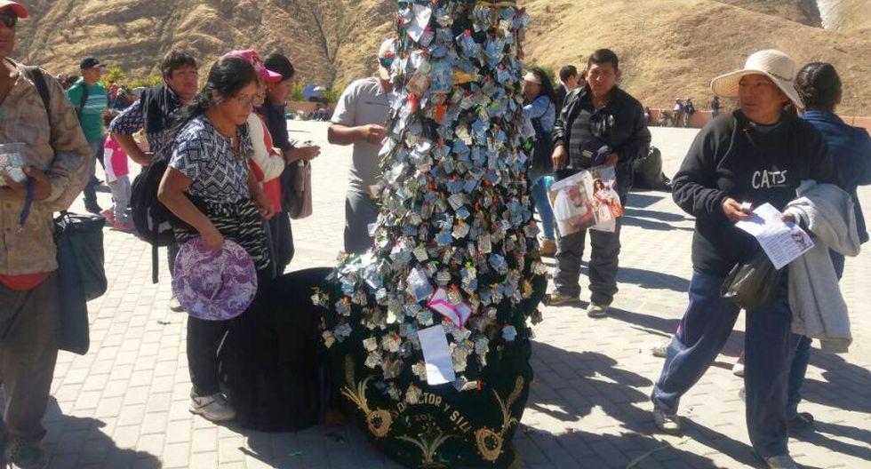 Miles de fieles peregrinaron al santuario de la Virgen de Chapi - 8
