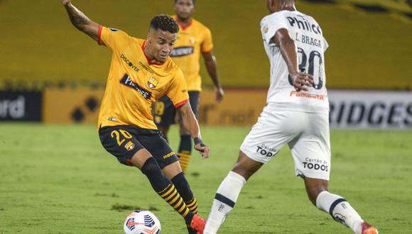 Santos jugará la presente edición de la Copa Sudamericana al quedar en la tercera posición del Grupo C . (Foto: AFP)