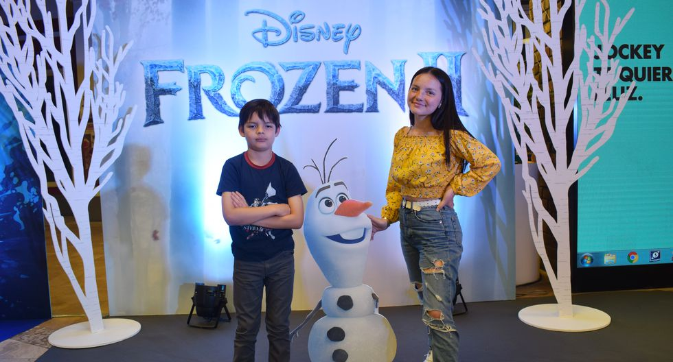 La cinta animada que cuenta las aventuras de Elsa, Anna, Olaf y Kristoff regresan con sus aventuras este jueves 21 de noviembre. (Fotos: Luis Pino Robles)