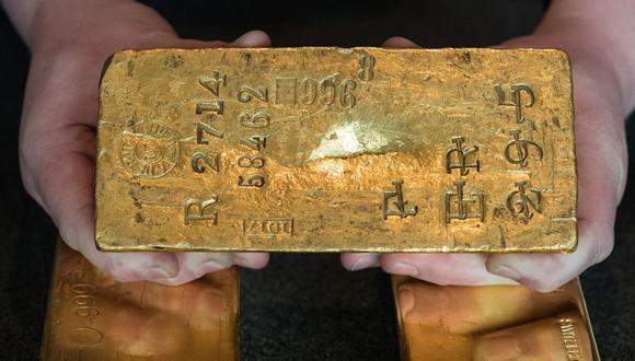Los futuros de oro en Estados Unidos caían un 0,8%, a US$1.738,20 la onza. (Foto: AFP)