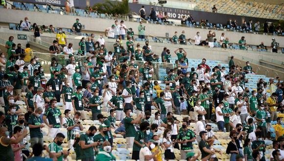 Palmeiras vs. Santos se ven las caras por la final de la Copa Libertadores 2020. (Foto: EFE)