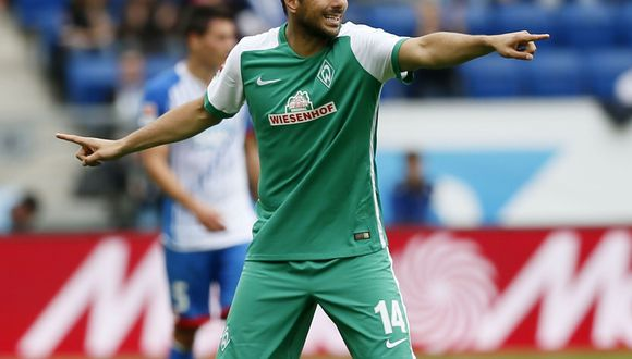 El atacante Claudio Pizarro, su último equipo fue el Werder Bremen de alemania. (Foto: AFP)