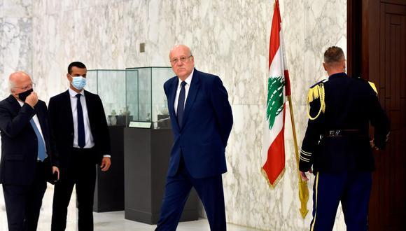 """""""No tengo una varita mágica ni puedo hacer milagros, pero he estudiado la situación hace tiempo y cuento con avales internacionales"""", dijo Najib Mikati poco después de ser designado primer ministro por el Parlamento del Líbano. (Foto: Wael Hamzeh / EFE)"""