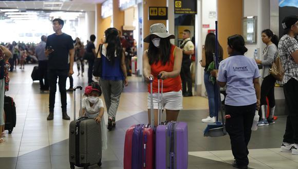 Carlos Canales estimó que S/ 500 millones del FAE Turismo alcanzan para menos de 10 mil empresas. (Foto: Diana Marcelo /GEC)