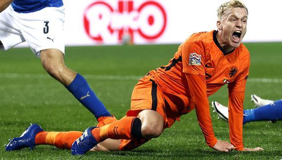 Donny van de Beek se pierde la Eurocopa 2021 por lesión.