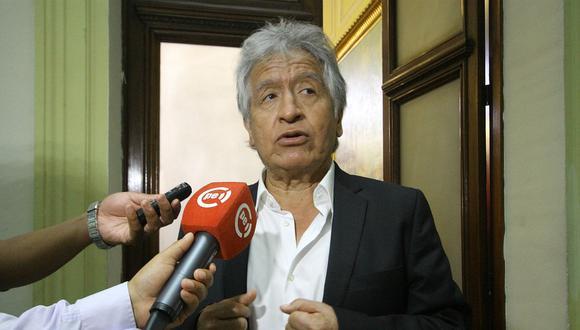 Virgilio Acuña había sido excluido el pasado 22 de diciembre por el JEE Lima Centro por no consignar un proceso penal en su declaración jurada. (Foto: GEC).