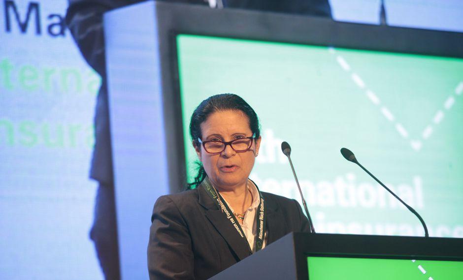Socorro Heysen, superintendenta de Banca, Seguros y AFP. (Foto: GEC)