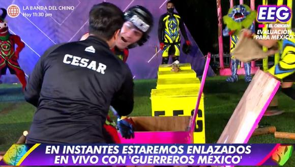"Tenso momento se vivió en ""Esto es guerra"" por episodio protagonizado por Pancho Rodríguez. (Foto: Captura América TV)."