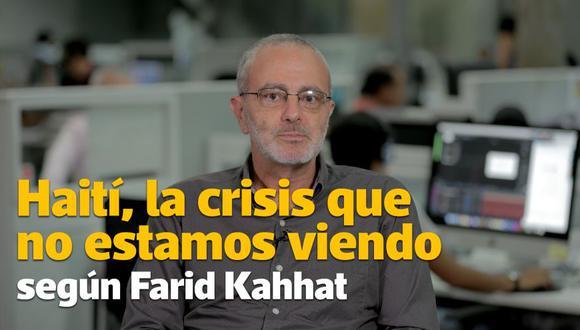 Farid Kahhat explica por qué hay protestas en Haití | Videocolumna.