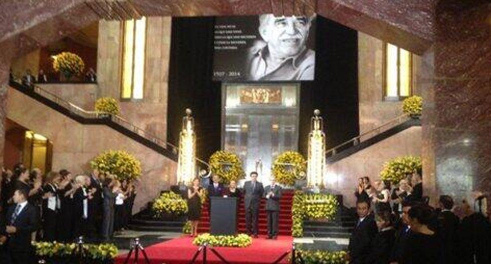 Así fue el homenaje póstumo a Gabriel García Márquez en México - 8