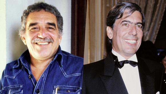 Gabriel García Márquez y Mario Vargas Llosa en la década de 1980. De manera reciente se han reeditado dos libros del escritor peruano donde habla de su colega; del cual fue amigo. Fotos: STEFAN WALLGREN y PIERRE VERDY para AFP.