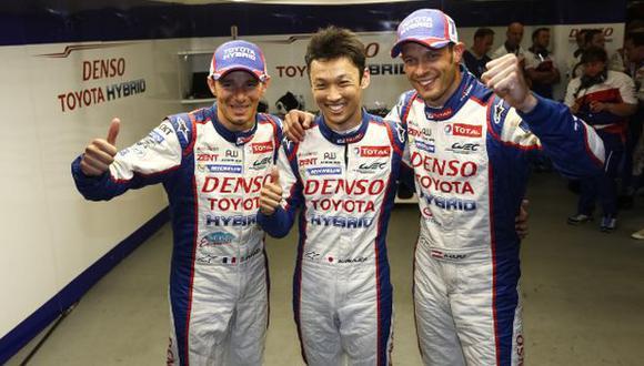 Toyota se queda con la pole de las 24 Horas de Le Mans