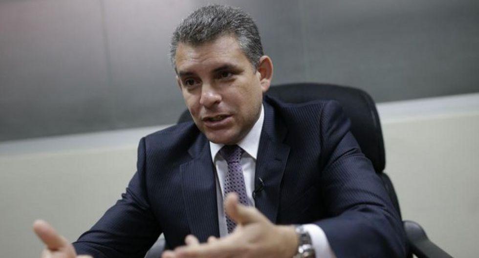 El fiscal superior defendió el acuerdo alcanzado con Odebrecht.  (Foto: Anthony Niño de Guzmán)
