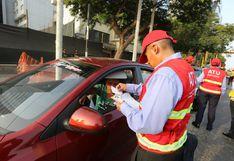 San Isidro: 19 vehículos fueron enviados al depósito tras intervención en la vía del Corredor Rojo | FOTOS