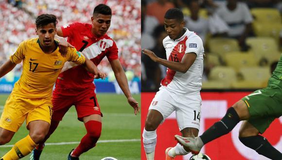 Paolo Hurtado y Andy Polo son los últimos dos futbolistas presentes en Rusia 2018 y que ahora no fueron tomados en cuenta por Ricardo Gareca para la Copa América 2021. (Foto: AFP)