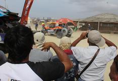 Dakar 2019: así reciben los pisqueños a los pilotos en el campamento