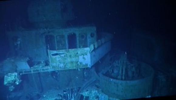 """""""Acabamos de efectuar la inmersión a más profundidad de la historia para encontrar los restos de destructor USS Johnston"""", tuiteó Victor Vescovo, fundador de la empresa estadounidense Caladan Oceanic, que dirigió el submarino que localizó al barco. (Foto: @VictorVescovo)."""
