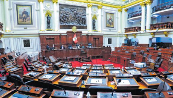 La propuesta fue aprobada con 75 votos a favor, 33 en contra y cinco abstenciones. (Foto: GEC)
