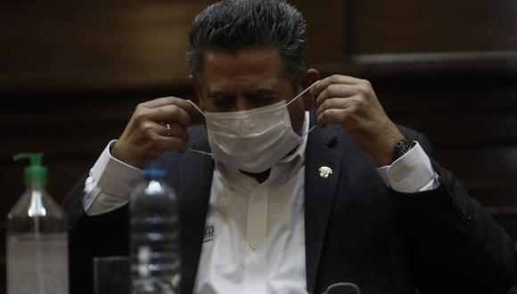 Presidente del Congreso, Manuel Merino, rechaza declaraciones de miembros del Ejecutivo (Foto: César Campos)